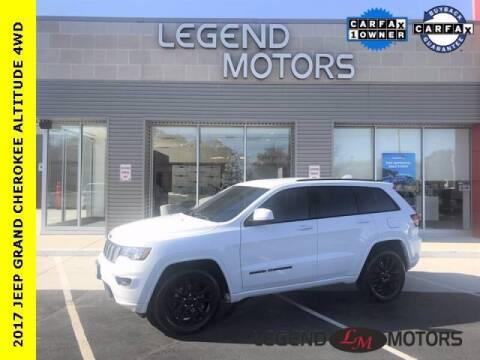 2017 Jeep Grand Cherokee for sale at Legend Motors of Detroit - Legend Motors of Waterford in Waterford MI