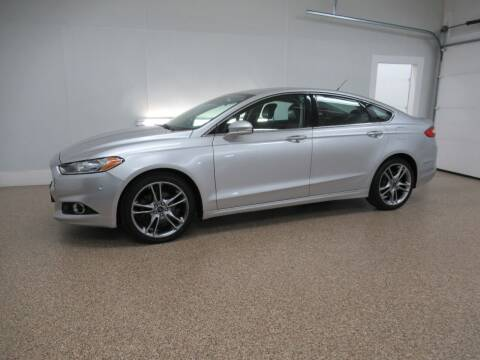 2014 Ford Fusion for sale at HTS Auto Sales in Hudsonville MI