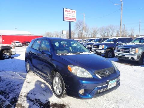 2005 Toyota Matrix for sale at Marty's Auto Sales in Savage MN