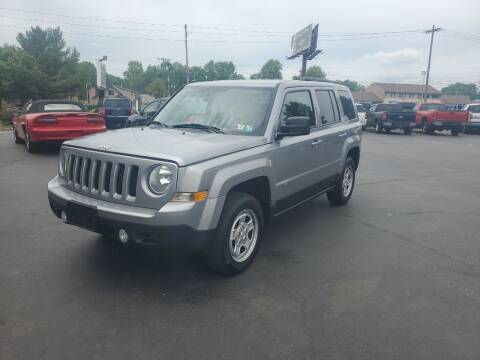 2017 Jeep Patriot for sale at Boardman Auto Exchange in Youngstown OH