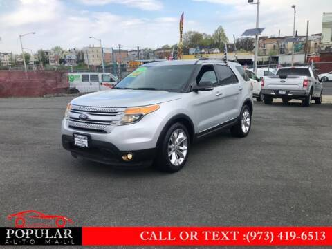 2014 Ford Explorer for sale at Popular Auto Mall Inc in Newark NJ