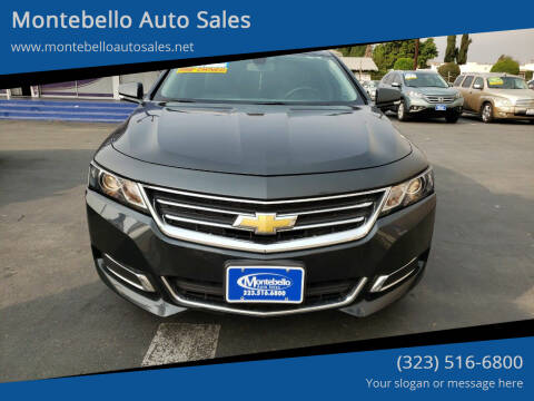 2015 Chevrolet Impala for sale at Montebello Auto Sales in Montebello CA