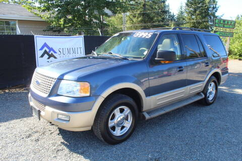 2006 Ford Expedition for sale at Summit Auto Sales in Puyallup WA