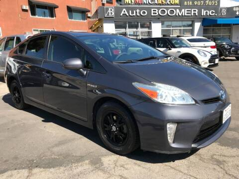 2012 Toyota Prius for sale at Auto Boomer Inc. in Sherman Oaks CA