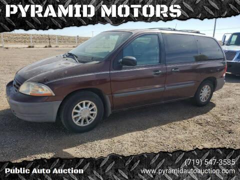 1999 Ford Windstar for sale at PYRAMID MOTORS - Pueblo Lot in Pueblo CO