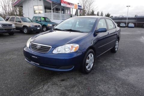 2008 Toyota Corolla for sale at Leavitt Auto Sales and Used Car City in Everett WA