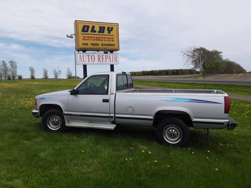 1997 Chevrolet C/K 2500 Series for sale at OLBY AUTOMOTIVE SALES in Frederic WI
