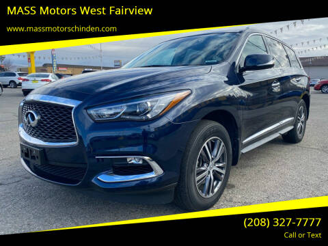 2017 Infiniti QX60 for sale at MASS Motors West Fairview in Boise ID