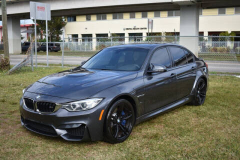 2015 BMW M3 for sale at ELITE MOTOR CARS OF MIAMI in Miami FL