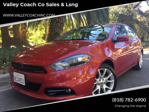 2013 Dodge Dart for sale at Valley Coach Co Sales & Lsng in Van Nuys CA