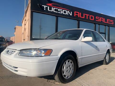 1998 Toyota Camry for sale at Tucson Auto Sales in Tucson AZ