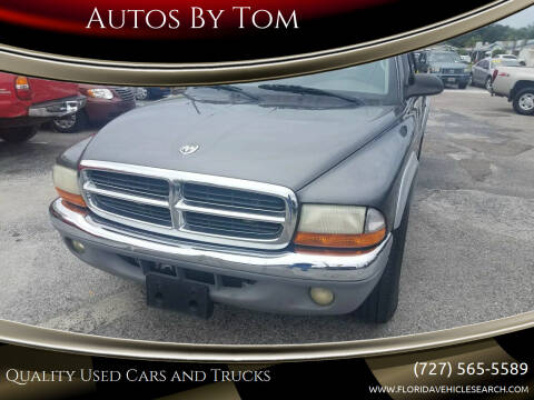 2004 Dodge Dakota for sale at Autos by Tom in Largo FL