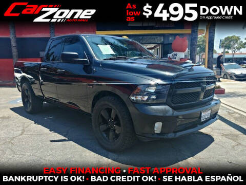 2015 RAM Ram Pickup 1500 for sale at Carzone Automall in South Gate CA