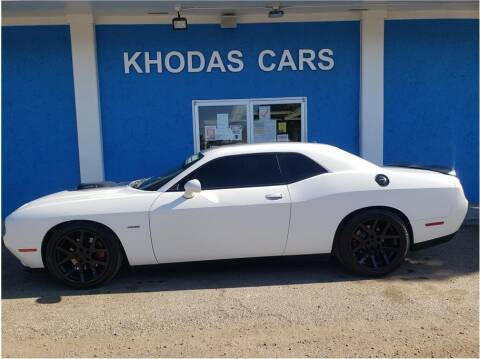 2015 Dodge Challenger for sale at Khodas Cars in Gilroy CA