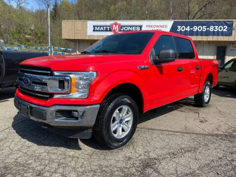 2018 Ford F-150 for sale at Matt Jones Preowned Auto in Wheeling WV
