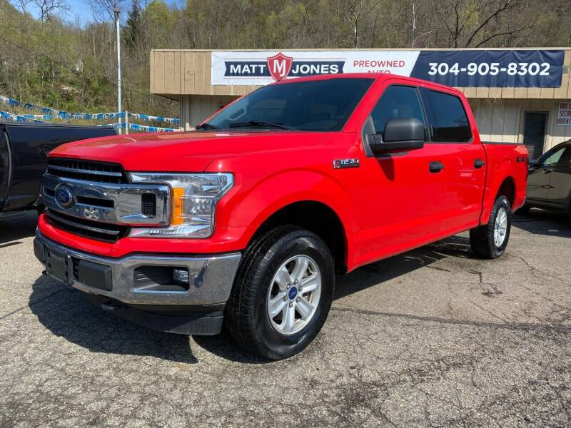 2018 Ford F-150 for sale at Matt Jones Preowned Auto in Wheeling WV