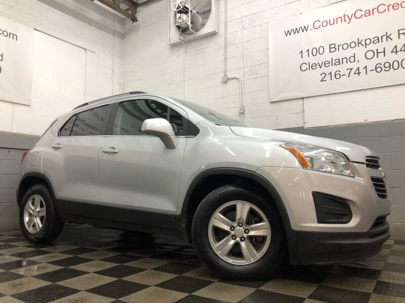 2016 Chevrolet Trax for sale at County Car Credit in Cleveland OH