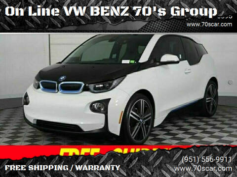 2014 BMW i3 for sale at On Line VW BENZ 70's Group in Warehouse CA