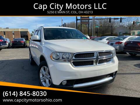 2011 Dodge Durango for sale at Cap City Motors LLC in Columbus OH