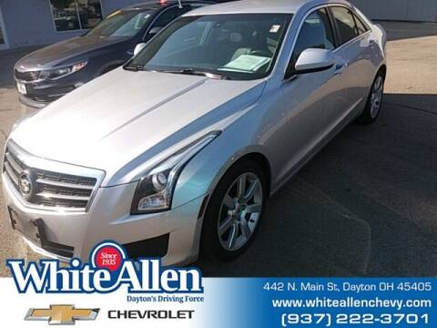 2014 Cadillac ATS for sale at WHITE-ALLEN CHEVROLET in Dayton OH