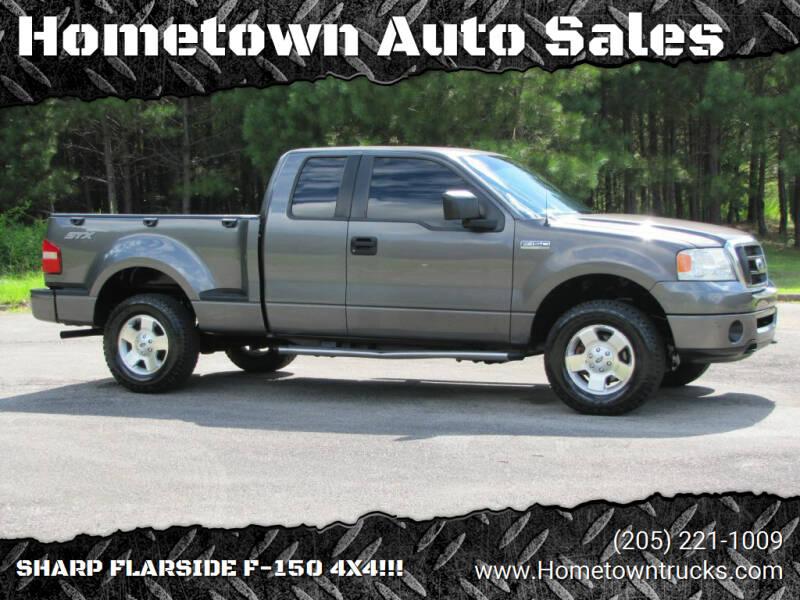 2006 Ford F-150 for sale at Hometown Auto Sales - Trucks in Jasper AL