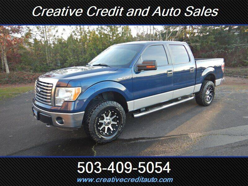 2012 Ford F-150 for sale at Creative Credit & Auto Sales in Salem OR