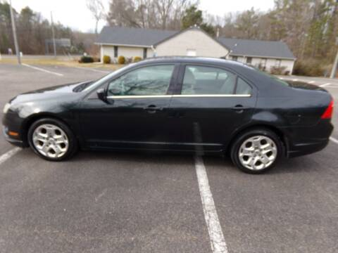 2010 Ford Fusion for sale at West End Auto Sales LLC in Richmond VA