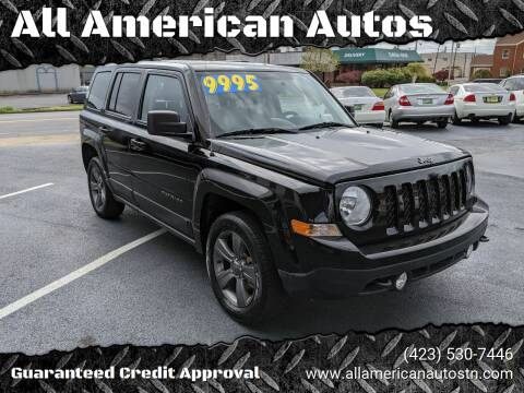2016 Jeep Patriot for sale at All American Autos in Kingsport TN