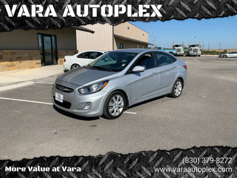 2013 Hyundai Accent for sale at VARA AUTOPLEX in Seguin TX