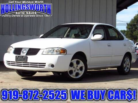 2006 Nissan Sentra for sale at Hollingsworth Auto Sales in Raleigh NC