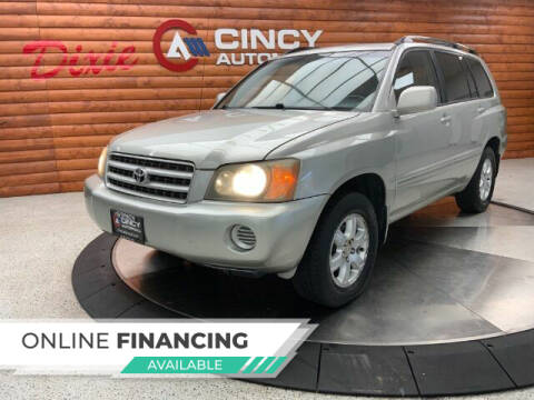 2003 Toyota Highlander for sale at Dixie Motors in Fairfield OH