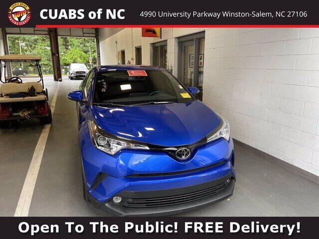 2018 Toyota C-HR for sale at Summit Credit Union Auto Buying Service in Winston Salem NC