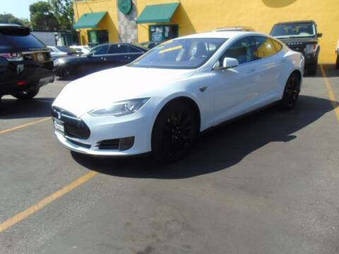 2015 Tesla Model S for sale at Santa Monica Suvs in Santa Monica CA