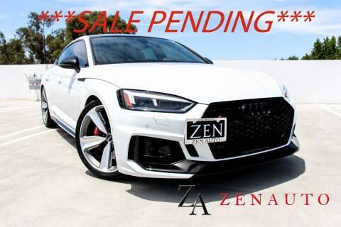 2019 Audi RS 5 Sportback for sale at Zen Auto Sales in Sacramento CA