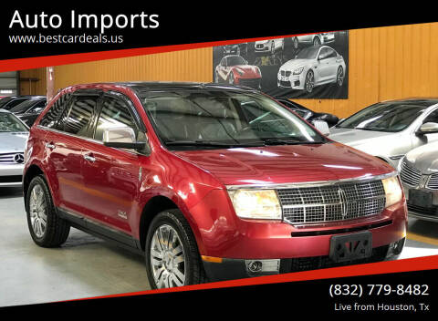2009 Lincoln MKX for sale at Auto Imports in Houston TX