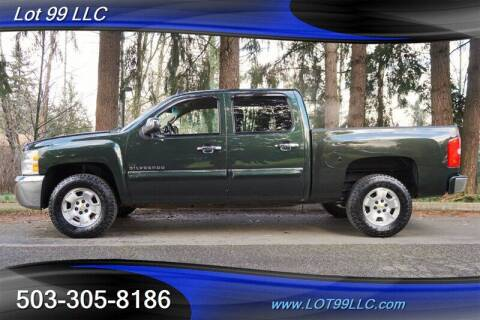 2013 Chevrolet Silverado 1500 for sale at LOT 99 LLC in Milwaukie OR