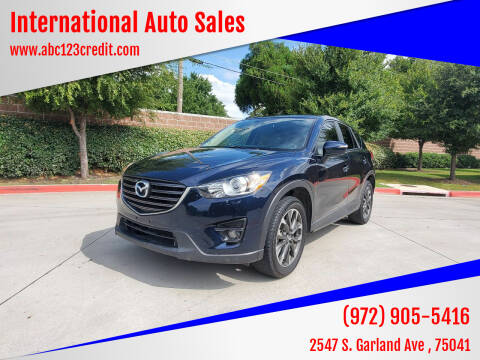 2016 Mazda CX-5 for sale at International Auto Sales in Garland TX