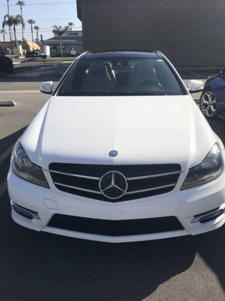 2014 Mercedes-Benz C-Class for sale at Coast Auto Motors in Newport Beach CA