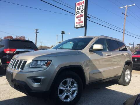 2014 Jeep Grand Cherokee for sale at Pary's Auto Sales in Garland TX