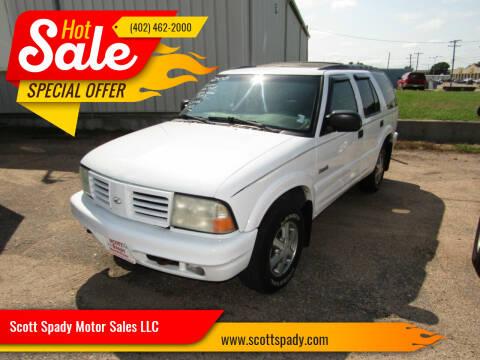 2000 Oldsmobile Bravada for sale at Scott Spady Motor Sales LLC in Hastings NE