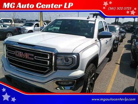 2016 GMC Sierra 1500 for sale at MG Auto Center LP in Lake Park FL