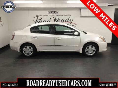 2010 Nissan Sentra for sale at Road Ready Used Cars in Ansonia CT