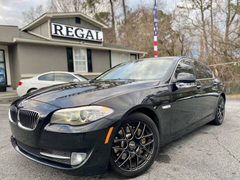 2012 BMW 5 Series for sale at Regal Auto Sales in Marietta GA