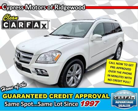 2011 Mercedes-Benz GL-Class for sale at Cypress Motors of Ridgewood in Ridgewood NY