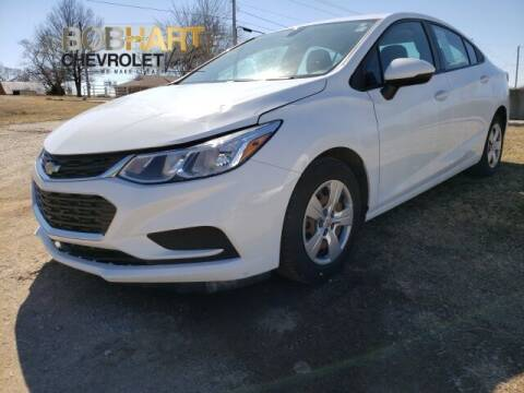2017 Chevrolet Cruze for sale at BOB HART CHEVROLET in Vinita OK