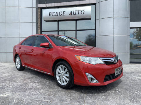 2012 Toyota Camry for sale at Berge Auto in Orem UT