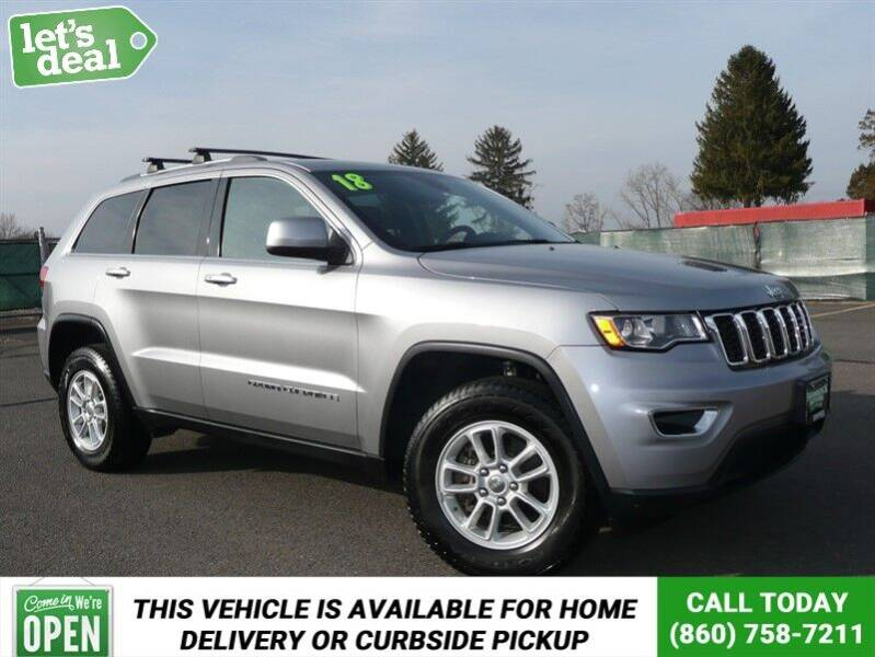 2018 Jeep Grand Cherokee for sale at Shamrock Motors in East Windsor CT