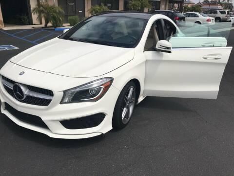 2014 Mercedes-Benz CLA for sale at Coast Auto Motors in Newport Beach CA