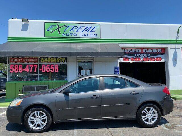 2006 Pontiac G6 for sale at Extreme Auto Sales in Clinton Township MI