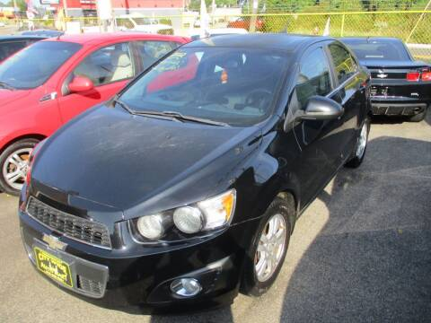2012 Chevrolet Sonic for sale at City Wide Auto Mart in Cleveland OH